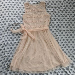 NWOT Tulle and Lace Dress